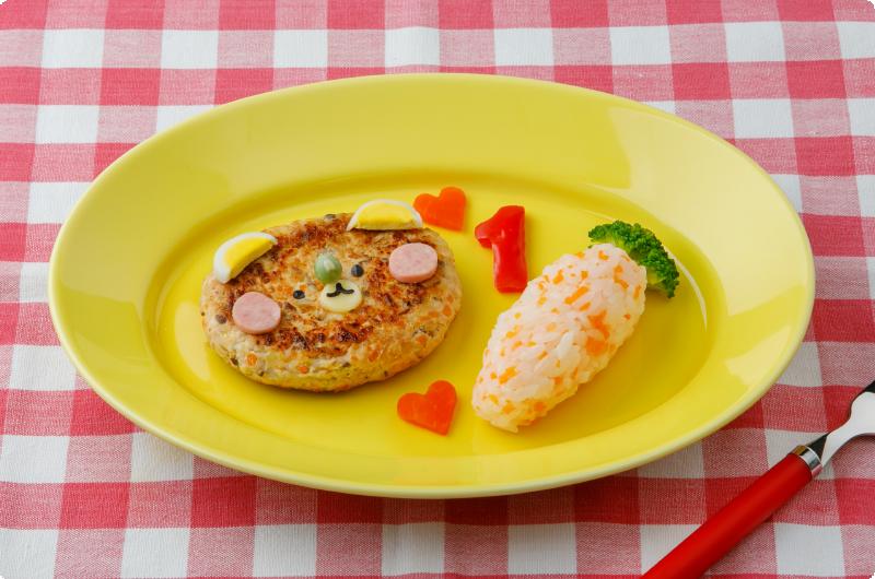 鶏ひき肉 ハンバーグ 子供
